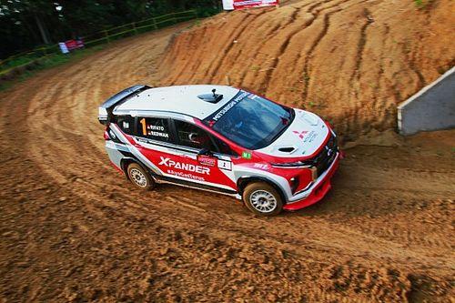 Rifat Sungkar Bawa XRT Podium di Seri Kedua Sprint Rally 2021