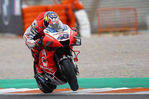 Valencia MotoGP: Miller quickest in FP2 as Mir crashes
