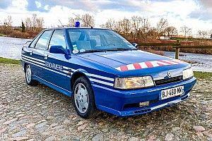 ¡Este Renault 21 Turbo de la Gendarmería francesa se subasta!