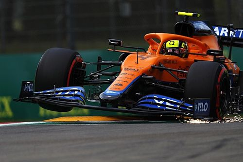 "Norris admits he ""effed it all up"" in Imola qualifying"