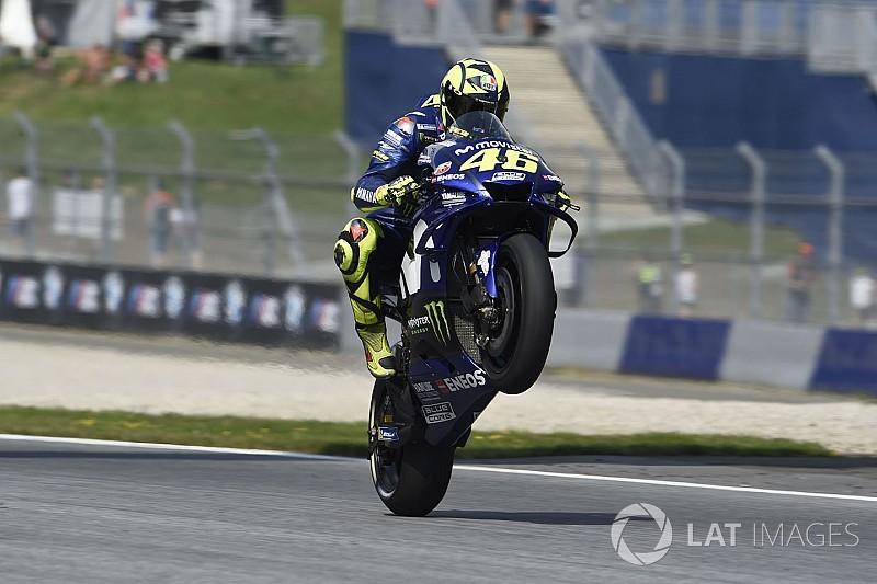 Finis keenam, Rossi nikmati balapan