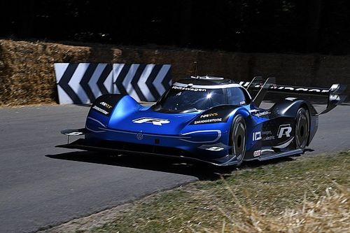 Electric VW breaks Heidfeld's 20-year old Goodwood record