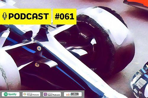 Podcast #061 – Qual é o tamanho da 'sorte' de Hamilton ao vencer com três rodas?
