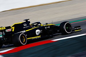 Barcelona Test Day 4: Renault shine, but expected pace-setters hold back
