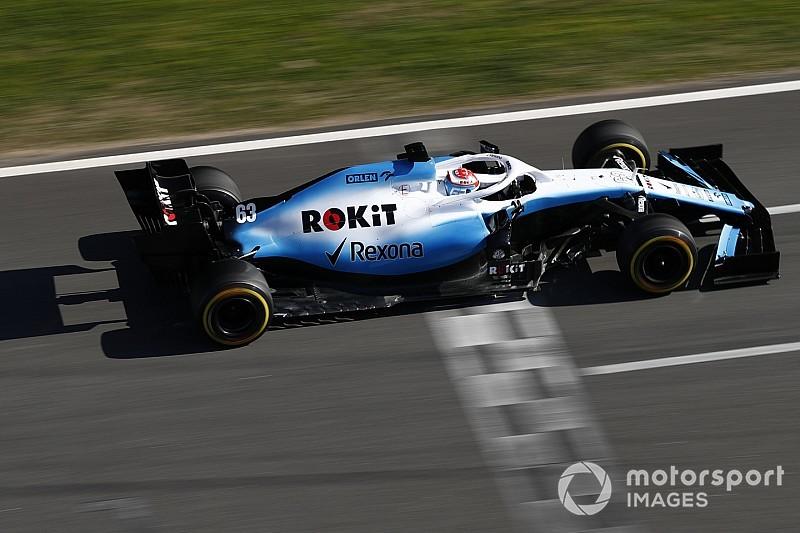 В Williams испытали облегчение после успешного дня тестов