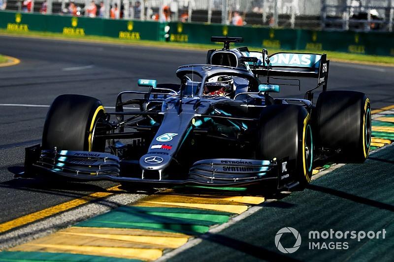 Melbourne, Libere 3: Hamilton detta il passo, la Ferrari più vicina ma si copre