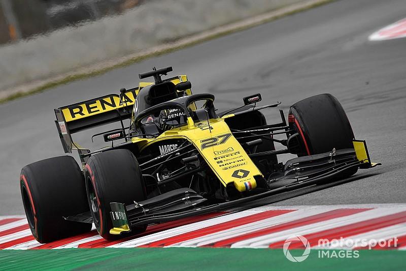 Hulkenberg tops opening week of Barcelona F1 testing