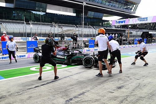 FIA would have investigated Bottas F1 pitlane spin without complaint