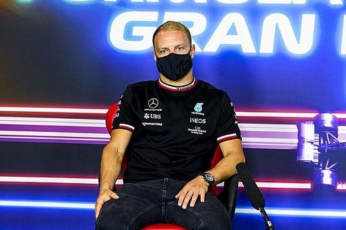 """F1: Bottas diz que rumor de troca por Russell é """"besteira"""" e corneta Red Bull"""