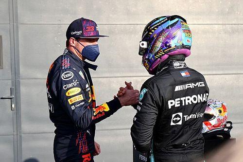 """Button ve """"importante"""" una charla entre Hamilton y Verstappen"""