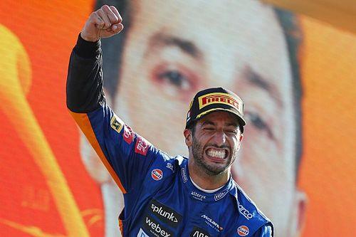 """Ricciardo: """"Oergevoel"""" hielp me aan de overwinning in Monza"""