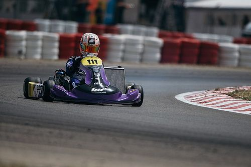 Rafa Câmara é vice-campeão europeu de kart em 2021
