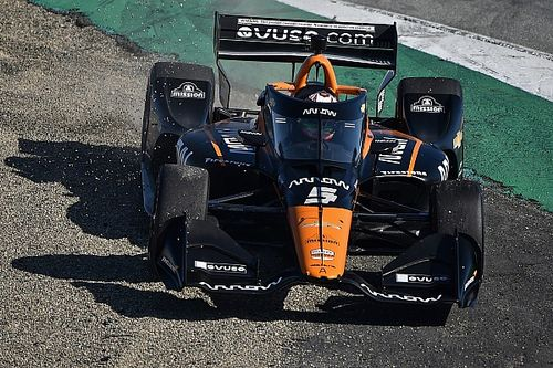 """O'Ward: Racing Indy was """"like driving into a black hole"""""""