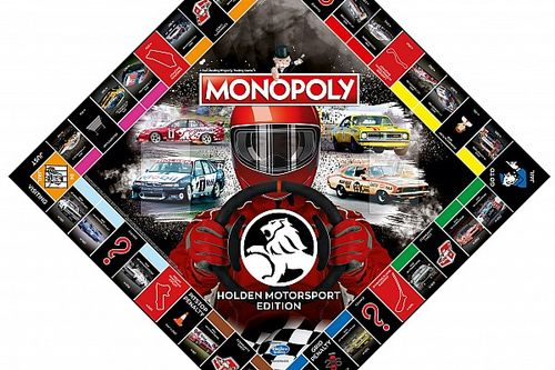 Holden Motorsport edition of Monopoly unveiled