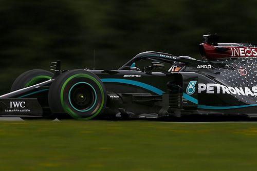 Hamilton a második edzést is behúzta Bottas előtt, a Racing Point a harmadik a Red Bull Ringen