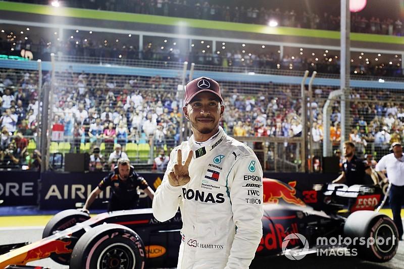 GALERIA: As melhores imagens do quali do GP de Singapura