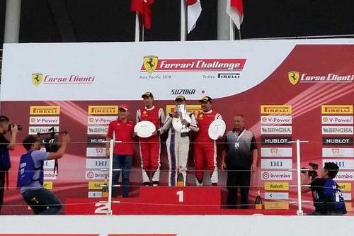 Ferrari Challenge APAC Jepang: Pembalap Indonesia berjaya di Suzuka