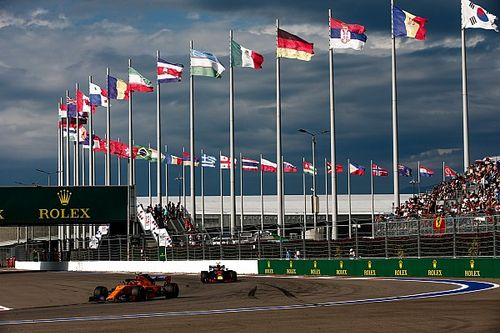 Weersverwachting voor de Grand Prix van Rusland