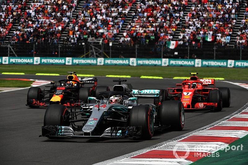 La F1 espère réduire d'un tiers la perte d'appui d'une voiture suiveuse