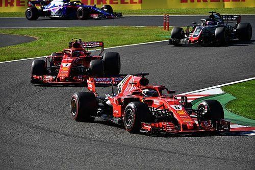 "Vettel: Ferrari se lo ""dejó fácil"" a Mercedes"