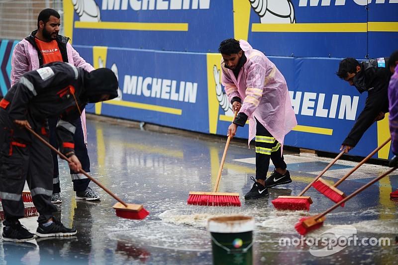 La lluvia en Arabia Saudí retrasa el inicio del campeonato de Fórmula E