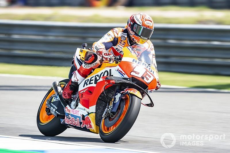 MotoGP in Thailand: Marquez besiegt Dovizioso in packendem Finish