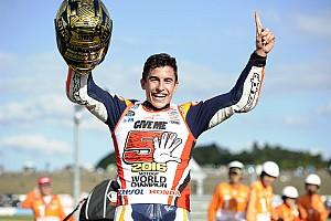 MotoGP Race report Motegi MotoGP: Marquez crowned champion as Rossi and Lorenzo crash