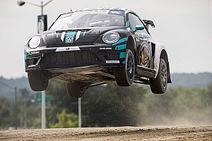 Global Rallycross Race report Volkswagen Andretti Rallycross earns home race double podium in Washington D.C.