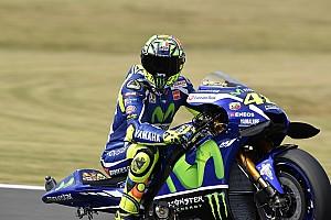 MotoGP Qualifying report Motegi MotoGP: Rossi snatches dramatic pole from Marquez