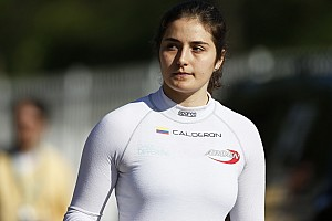 """GP3 Special feature Tatiana Calderon: """"We've done the hard part, now we need some luck!"""""""