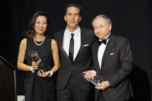 FIA会長のトッド夫妻、ニューヨークで国連から表彰を受ける