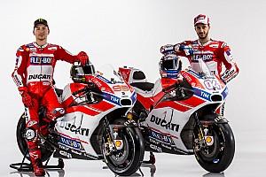 MotoGP Breaking news Ducati unveils Lorenzo's 2017 MotoGP livery