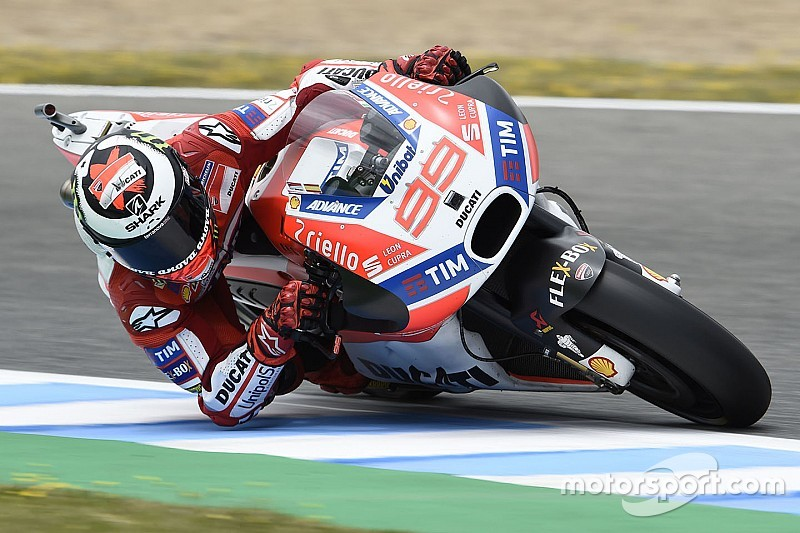 Unlikely first Ducati podium