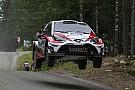 WRC Finland WRC: Latvala heads Toyota 1-2 on Friday morning