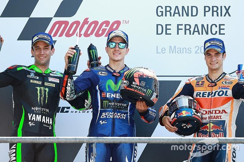 【MotoGP】優勝のビニャーレス「ロッシ転倒なくともチャンスはあった」