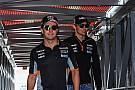 В Force India назвали неизбежным столкновение между Пересом и Оконом