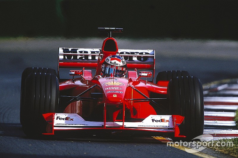 El Ferrari con el que Schumacher ganó su primer Mundial de F1 de rojo