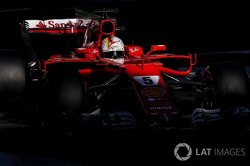 """Vettel : J'ai """"déçu l'équipe"""" à Bakou"""