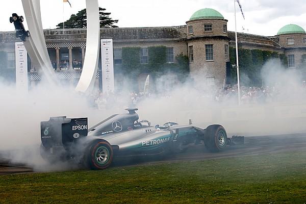 Винтаж Видео: Боттас стер до каркаса шины на Mercedes 2014 года