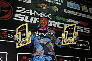 Altre Off-Road Ultime notizie Matteo Bonini è campione italiano 2017 del Supercross