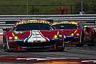WEC Ferrari mantiene su alineación de pilotos para el WEC