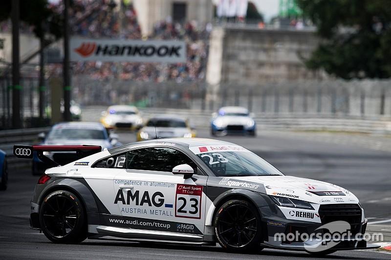 Audi TT Cup: Freude bei Philip Ellis, Ärger bei Fabienne Wohlwend