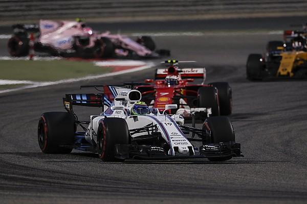 Fórmula 1 Coluna do Massa: Williams