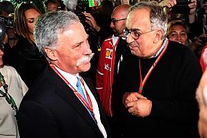 F1 Noticias de última hora Marchionne advierte que la posible salida de Ferrari debe ser tomada en serio