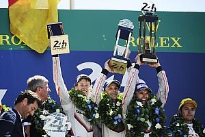 Ле-Ман Отчет о гонке Porsche выиграла безумную гонку в Ле-Мане