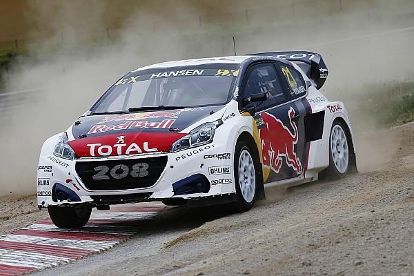 World Rallycross Résumé de course Une manche pour Hansen mais Solberg reste en tête