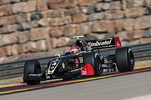 Формула V8 3.5 Отчет о гонке Фиттипальди победил во второй гонке в Арагоне, Оруджев третий