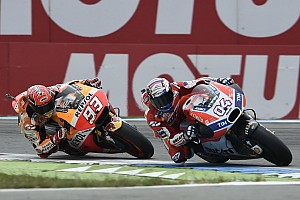 "MotoGP Breaking news Dovizioso: Risk was ""too high"" to fight for MotoGP hat-trick"