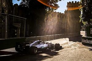 F1 突发新闻 终极软胎将首次在阿塞拜疆亮相