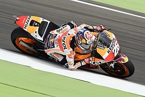 """MotoGP Noticias de última hora Pedrosa: """"Tengo que mejorar en situaciones de lluvia"""""""